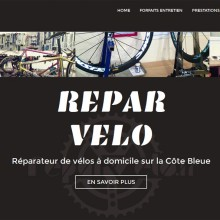 Site WordPress – Reparvelo.fr