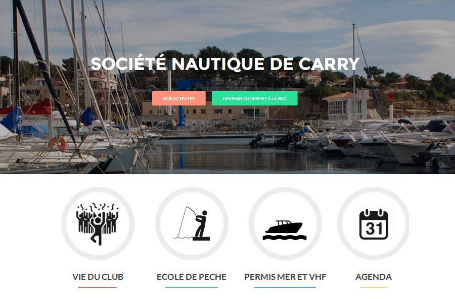 Site WordPress – nautic-carry.fr