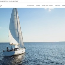 Site WordPress – elan-yachts-france.bluetouch.fr